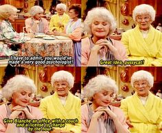 the golden girls oh I love that show