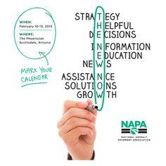 NAPA's 58th Annual Meeting | 10-13 February, 2013 | Scottsdale, Arizona