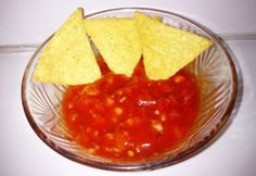 Salsa Nachos, Chips, Food And Drink, Meat, Ethnic Recipes, Lemonade, Potato Chip, Potato Chips
