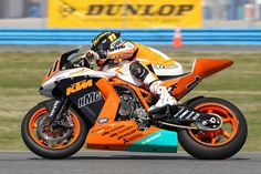 HMC/KTM Racing's Chris Fillmore (11)  -via http://roadracingworld.com/news/article/?article=47606  #KTM #Chris #Fillmore #AMA #Pro #Road #Racing #motorcycle