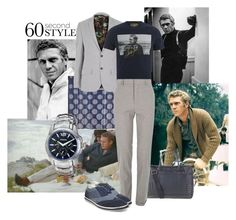 Be like Steve by maria-kuroshchepova on Polyvore featuring FOSSIL, River Island, Paul Smith, Diesel, Steve Madden, Alexander McQueen and 60secondstyle