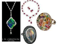 Designer Spotlight:  The Award-Winning Jewels of J.W. Currens
