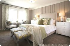 I will be changing my bedroom furniture to white soon this room looks something like I imagine it would be.