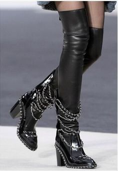 Now in our store: Silver Chains Thi... Check it out here!http://simplysonya731.net/products/2017-autumn-winter-women-thigh-high-boots-silver-chains-thick-heel-patent-leather-over-the-knee-boots-plus-size-two-pieces-suit?utm_campaign=social_autopilot&utm_source=pin&utm_medium=pin
