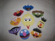 Sesame Street scrapbooking