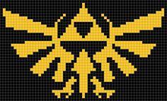 Zelda - Hylian Crest Pattern by hawkdaughter.deviantart.com on @deviantART