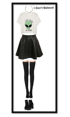 """Alien"" by coopdogxo on Polyvore featuring beauty, Pilot, Camille K and Tamara Mellon"