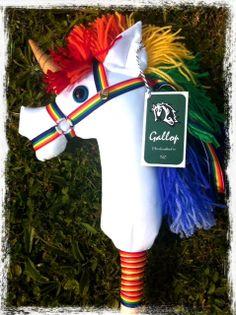 Hobby Horse  Stick Horse  Handcrafted/Handmade  by GallopNZ, $80.00