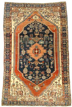 Serapi Antique Rugs #onerugonelove