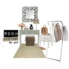 """Vintage Room Corner"" by galoeh11 on Polyvore"