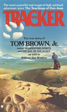 "At the age of 8 Tom Brown, Jr. was introduced to his friend's grandfather, one of the world's few remaining Lipan Apache trackers. THE TRACKER details the training ""Grandfather"" gave the boys over the following 10 years. Brown and his friend, Rick, learn how to live in the wilderness without supplies, read tracks like a book, and survive in any environment without being detected. Brown now runs The Tracker School and has authored 16 fascinating books on nature and his experiences. #Books…"