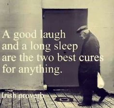 Irish proverb, this is how we solve problems! #sleep