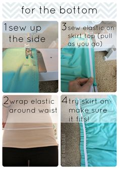 Diy infinity/wrap dress tutorial and its super easy. IM SO DOING THIS dcw!