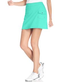 Style&co. Sport. French-Terry Cargo Skort