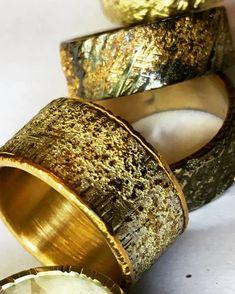 Beautiful men's rings by Jeanette Dyke.