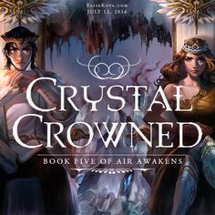 @elisekova's final book in the amazing Air Awakens series will be released on July 12th! Be sure to check out this fantastic YA fantasy series!