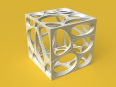 Fractured Voronoi Cube