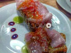 Tosta de lacón | Restaurante tapería A Táboa de Picar en Santiago de Compostela, A Coruña