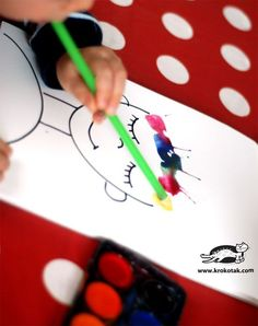 kids craft for Valentin's