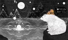 Tomorrow Bear Art Print by Sandra Dieckmann Constellations, Sandra Dieckmann, Bear Print, Illustration Art, Art Prints, Drawings, Poster, Pictures, Painting