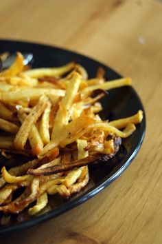 Rutabaga fries! My new obsession!!!!! And Super healthy for you!   Slice rutabaga in to fry shaped slices, put on a pan covered with tin foil, toss with grape seed oil, season with salt and season salt, bake at 425* for 20 min then flip fries and bake another 10 min. I dip mine in mustard.  Try also topped with chili. Mmmmm!