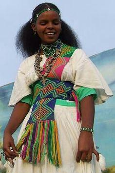 Tigrinya woman  Eritrea