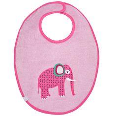 LÄSSIG Lätzchen waterproof medium Wildlife Elephant  #Lässig #Lätzchen #Rosa #Elephant