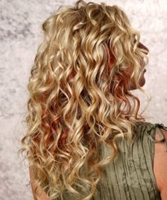 Medium hair with perm