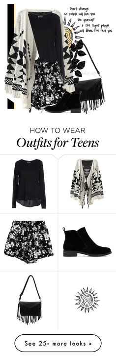 """""""Be Yourself"""" by boho-at-heart on Polyvore featuring ONLY, Chicnova Fashion, Lucky Brand, women's clothing, women's fashion, women, female, woman, misses and juniors"""