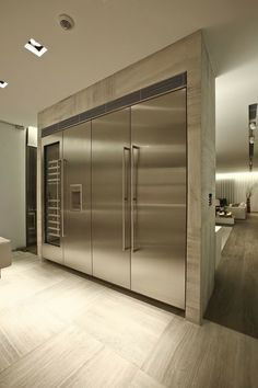 Stainless Steel Fridges and Freezers!!! Yes please!!!