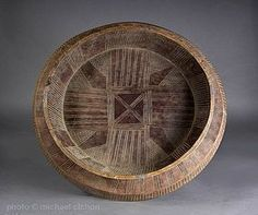 Several different peoples in Eastern Africa partake in the communal bread meal. The Gurage people make large wooden pedestal footed trays fo...