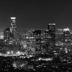 Fototapeta Inne, Panel szklany Inne, Fototapety Inne, Plexi Inne, Los Angeles at night