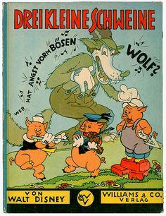 → Drei kleine Schweine | Williams Verlag, Berlin 1934 | Three Little Pigs