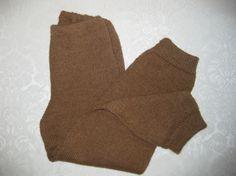 ULLBUKSE I ALPAKKA   3-3 1/2 år  BRUN Knitting, Handmade, Fashion, Brown, Moda, Hand Made, Tricot, Fashion Styles, Breien