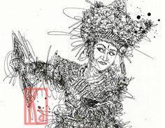 """Check out new work on my @Behance portfolio: """"Balinese Dancer"""" http://be.net/gallery/37704821/Balinese-Dancer"""