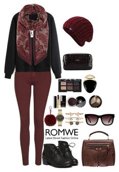 """Romwe 7"" by amra-f ❤ liked on Polyvore featuring Topshop, Keds, Fendi, Loro Piana, Marc by Marc Jacobs, Accessorize, Chanel, NARS Cosmetics, Bulgari and John Richmond"