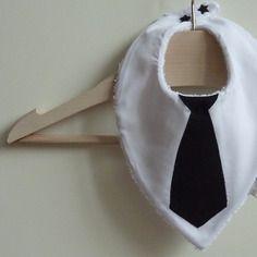 Sur commande bavoir bandana dandy chic cravate
