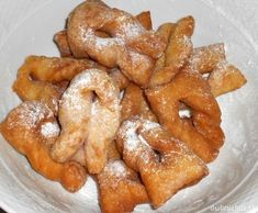 Fotorecept:Fánky. Donuts, Onion Rings, Banana Bread, French Toast, Menu, Cooking, Breakfast, Ethnic Recipes, Sweet