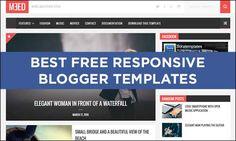 75  Best Free Responsive #Blogger Templates