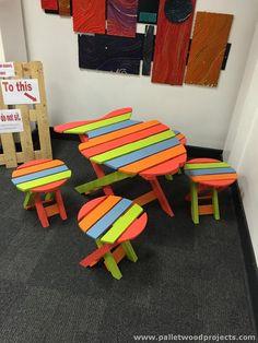 Pallet Kids Furniture                                                                                                                                                                                 More