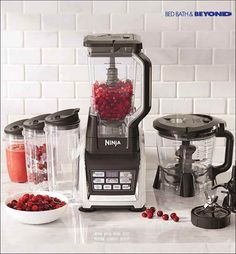 Fuel your body with deliciously nutritious food and drinks using this blender system. It extracts the maximum amount of nutrients from fruits and veggies so you'll feel your best when it comes time to conquer all things holiday.