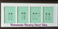 Isn't this the cutest nursery gift ever?! Make it!