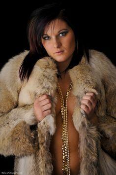from Jeffrey seductive girl in fur