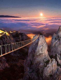 Bridge to the sky,  Ucranie