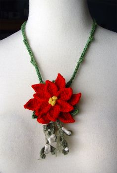 crochet jewelry patterns free | CROCHET NECKLACE INSTRUCTIONS » NECKLACE FOR YOU