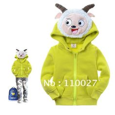 free shipping baby jacket cartoon coats fashion clothes winter topcoats novel outfit warm hoodies 6pcs/lot wholesale kids wear-in Girls from Apparel & Accessories on Aliexpress.com