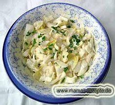 Chicoree Salat klassisch | Mamas Rezepte - mit Bild und Kalorienangaben