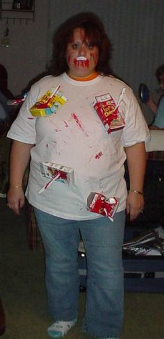 Scary cereal killer costume cereal killer costume cereal killer 25 diy costumes for a family themed halloween easy ccuart Choice Image