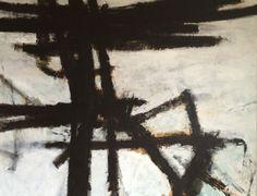"Kell Jarner. ""Jazz, parole"", acryl på lærred, 200 x 170 cm, 2014"