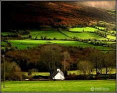 Now THIS makes me want to go home to Ireland! House in the country by Edward Dullard  Ireland